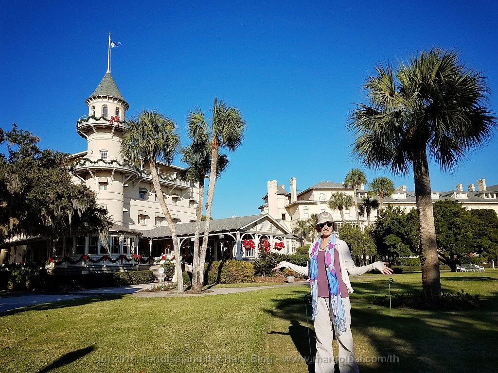 The Jekyll Island Club, former hangout of the richest of the richest in America until 1942