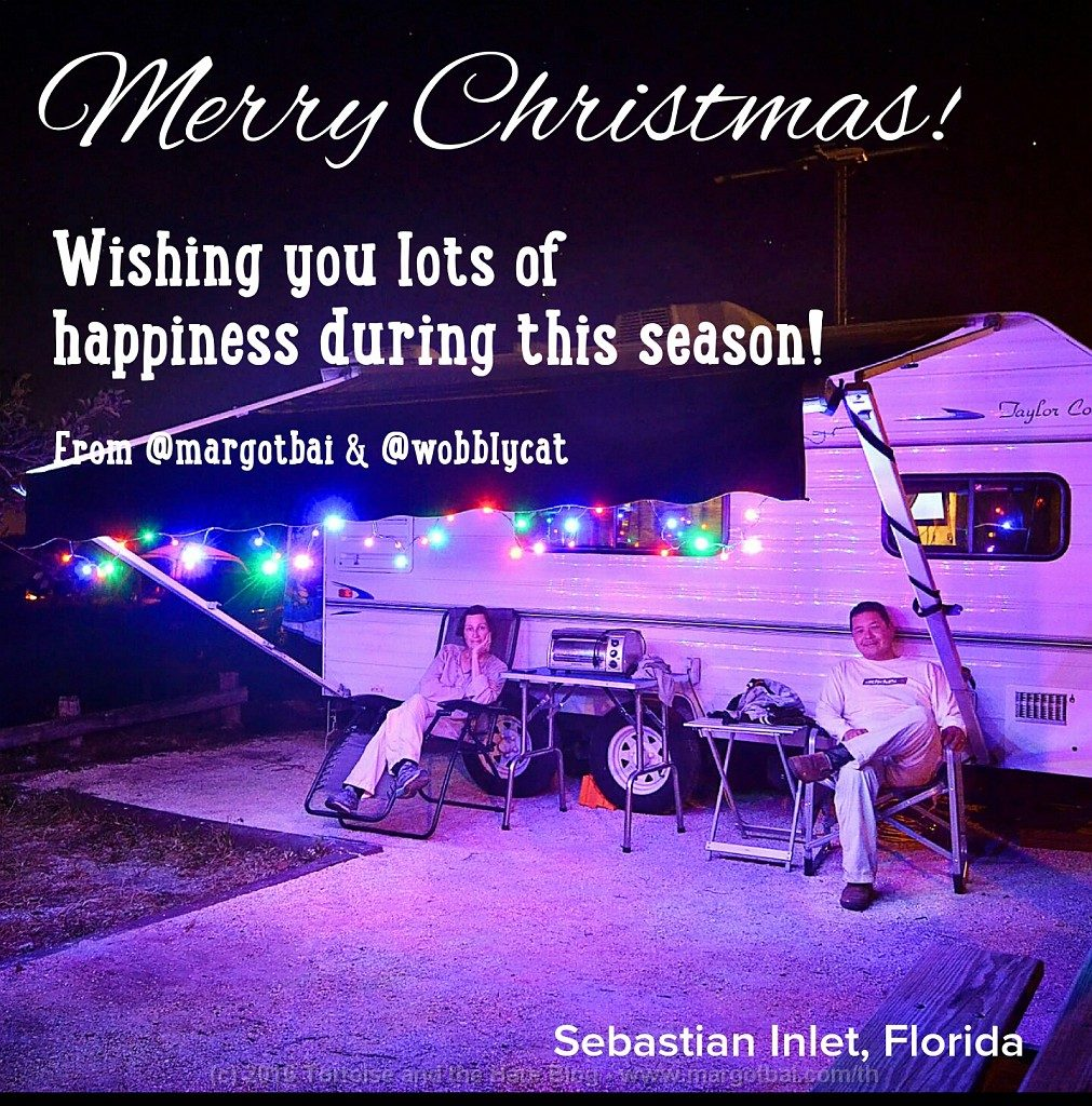 We enjoyed Christmas at beautiful Sebastian Inlet. James even made his own turkey, stuffing, and homemade cranberry sauce for Christmas dinner!