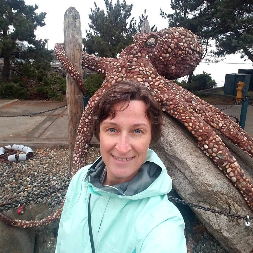 Cool art by the sea Yes I like octopuses! discoverwa