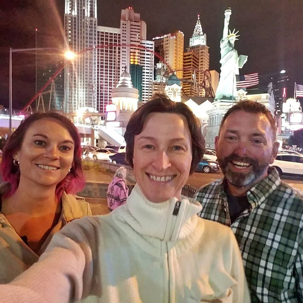 Popped my Vegas cherry on a Saturday night with thesehellip